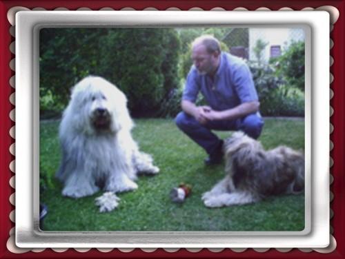Rüdiger mit Einstein und Balu